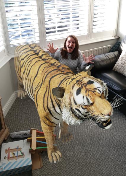 When a tiger came to tea
