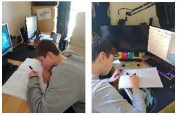 School work – they love it 😉