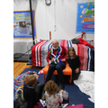 Story corner with Barry