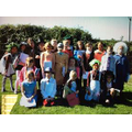 Dressed up as Roald Dahl book characters