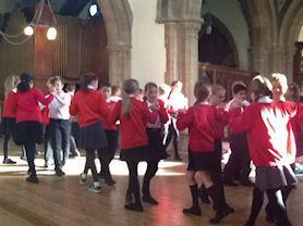 Sycamore's Harvest Dance.