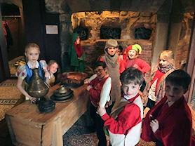 Role-play in the Robin Hood Room.