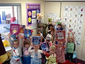The little ones and their favourite books.