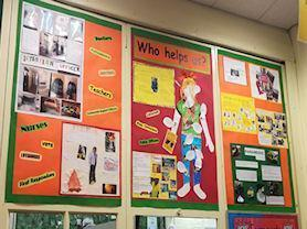 Project-based Learning Display.