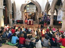 Learning about Christingle.