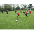 Some of our footballers in action.