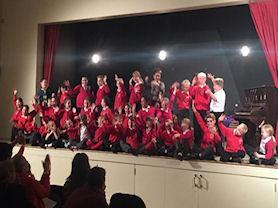 All the soloists from our Waltham-on-the-Wolds Music Concert.