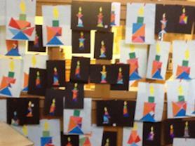 Artwork by the children.