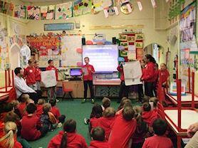 Presenting our manifestos.