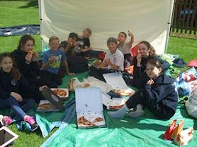 A Leaver's picnic with style.