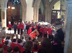 Holly Class perform 'BigRed Combine Harvester'.