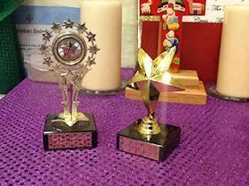 Class trophies.