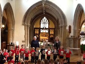Holly class foundations receive their first bibles.