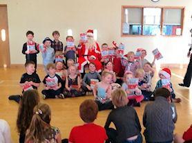 Santa with Holly Class.