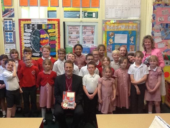 Bishop Martyn loved our school