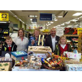 At Tesco with our donations