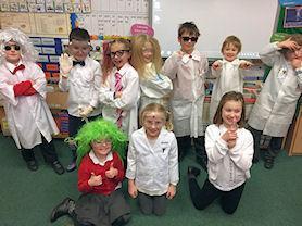 Oak Class Scientists.