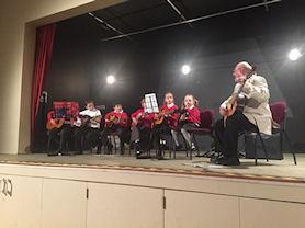 Performing in our summer concert
