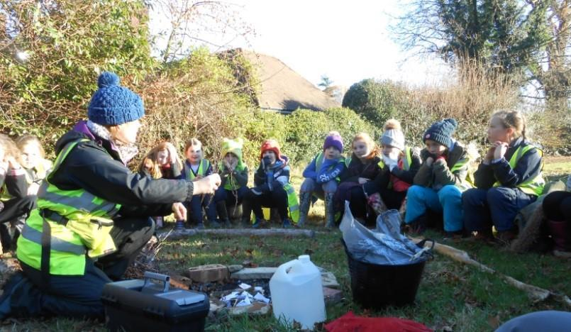 Our own Forest School Site at Breech Lane