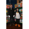 The winners of the best costumes Ks2 & Ks1