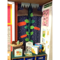 Mrs Wheatley made us a Beanstalk!