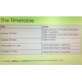 Year 6 SAT Timetable