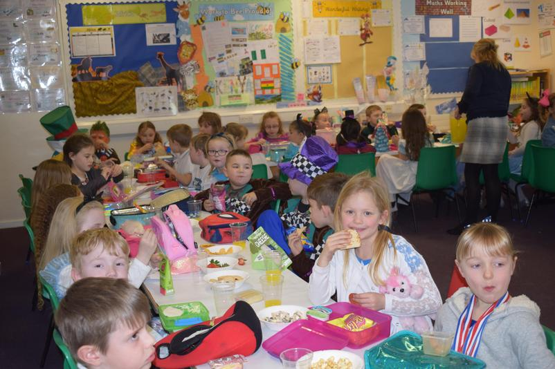 Year 3 Mad Hatter's Teaparty