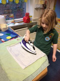 A hot iron in a classroom!