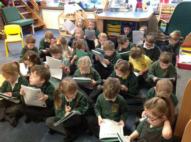Reading our own writing!