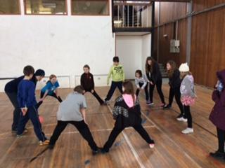 Indoor activities at Kingswood - March 2016