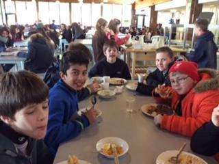 Meal time at Kingswood - March 2016