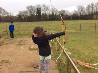 Archery at Kingswood - March 2016