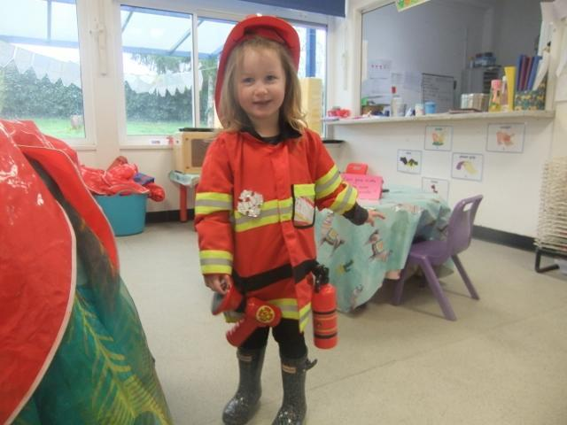Book Day Fire-Fighter