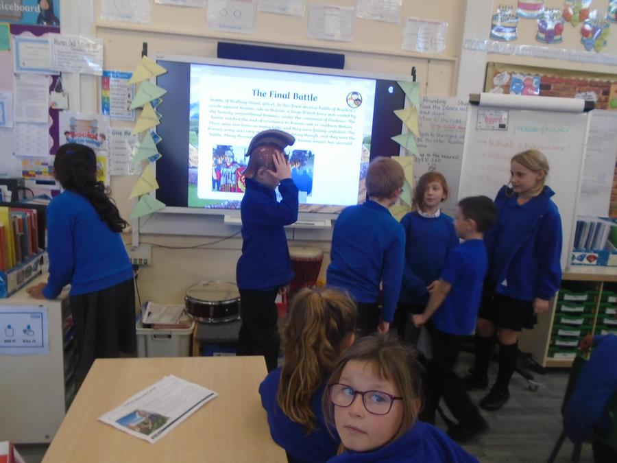 Acting out Boudicca's rebellion