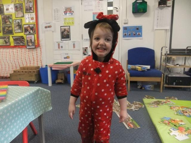 Book Day - Minnie Mouse