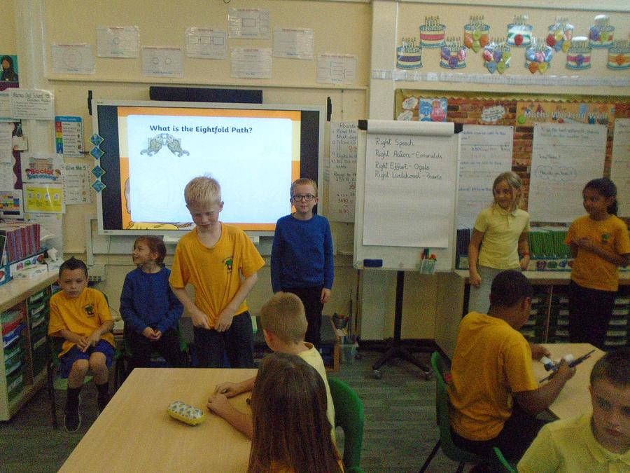 RE lesson role play