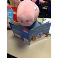 George loves reading all his new sounds!