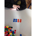 We started exploring arrays using counters.
