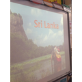 We looked at Sri Lanka on our International Day.