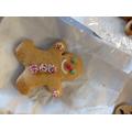 We made Gingerbread Men.