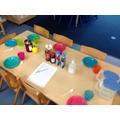 We made pancakes in Nursery.