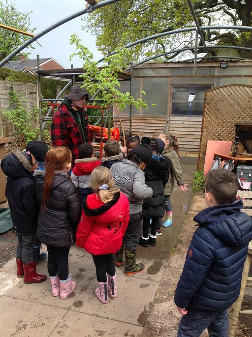 Robert told us about tree roots.