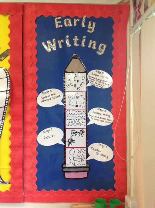 Here are some examples of Early Writing.