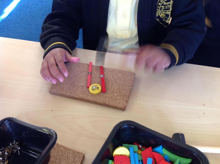 We made pictures using shapes.