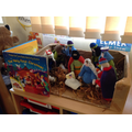 We have been learning all about The Very First Christmas.