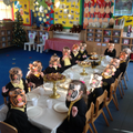 Oh look at all the Tigers who came to our Tea Party.