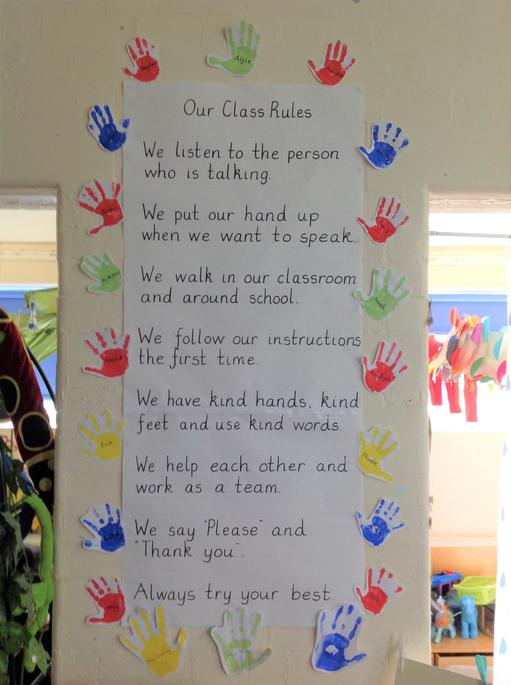 Some very good rules in Reception.