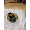 We used different Christmas shapes too.