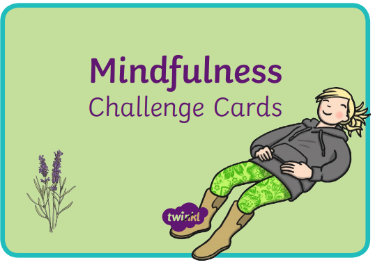 I have attached all the Mindfulness Challenge Cards. Have a go at as many as you can!