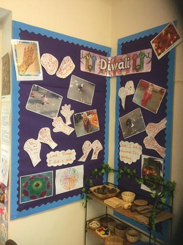 In Autumn we learnt about Diwali.